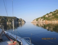 Красива сутрин в Гърция