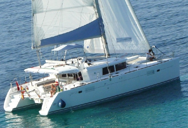 Catamaran for Rent Greece