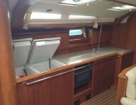 Yacht kitchen