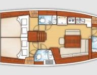 Схема на яхтата