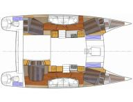 Catamaran layout